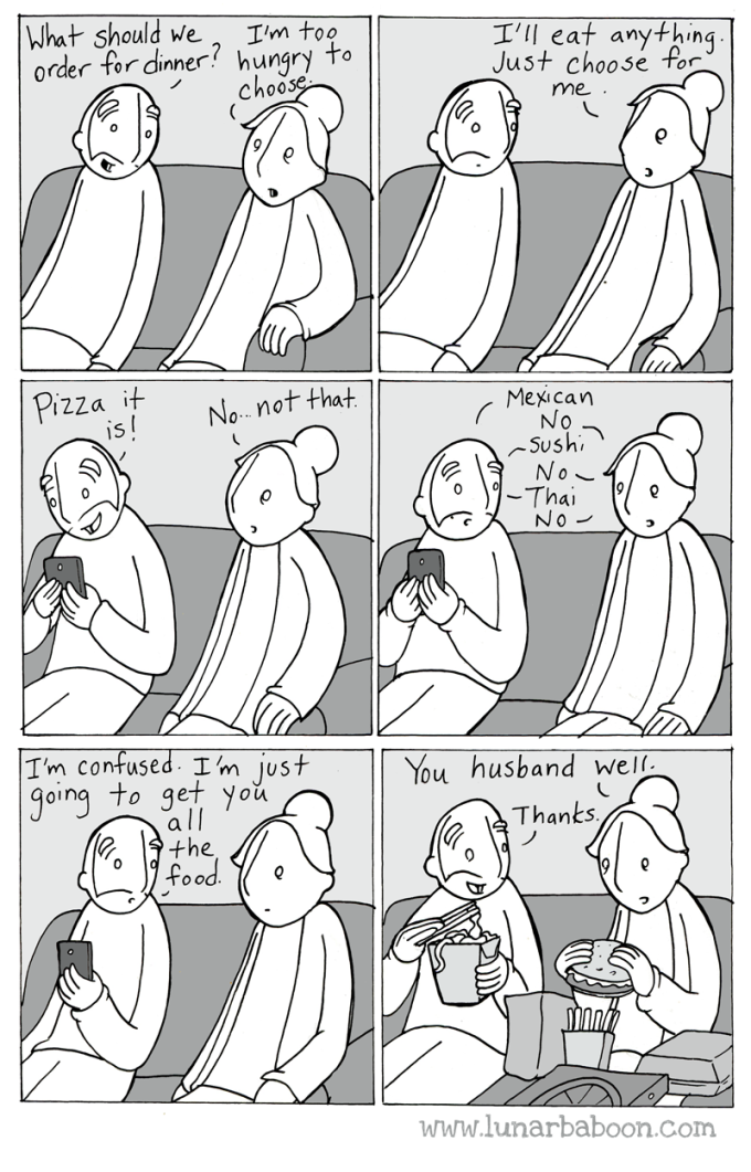 cartoon eten