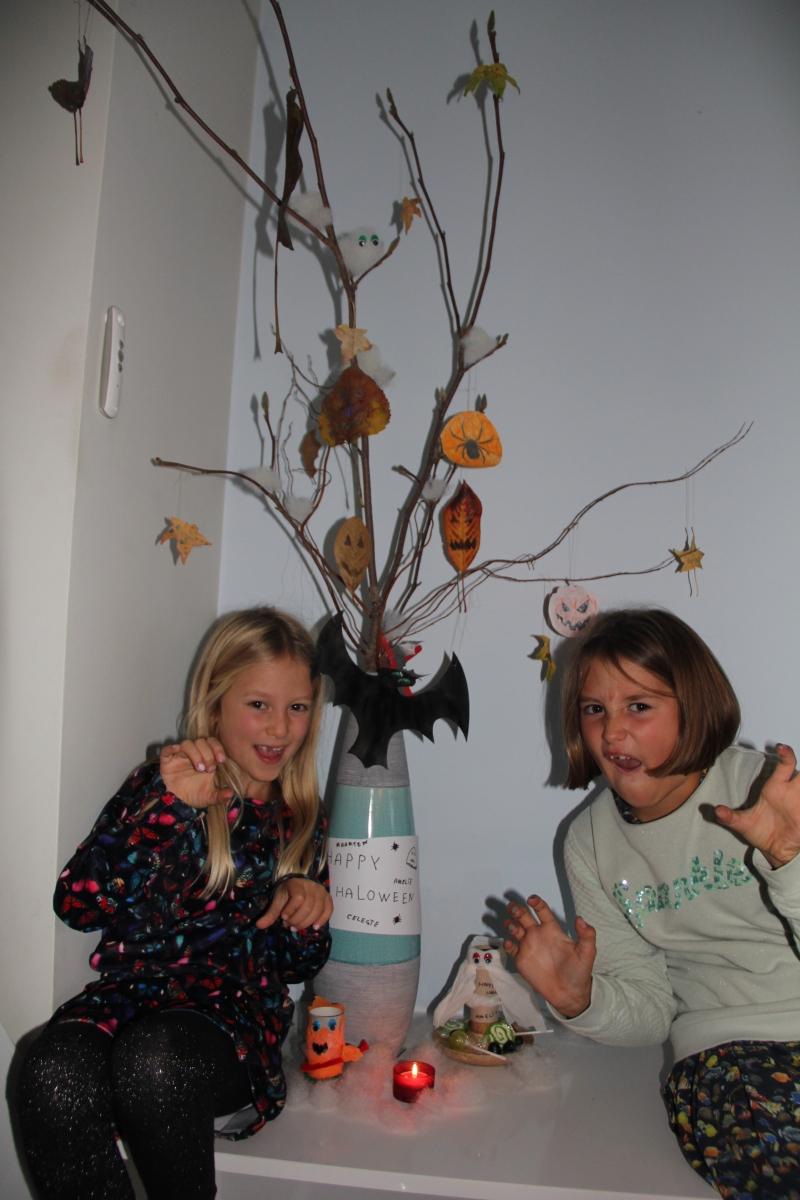 Knutsel-idee: decoratie voor Halloween