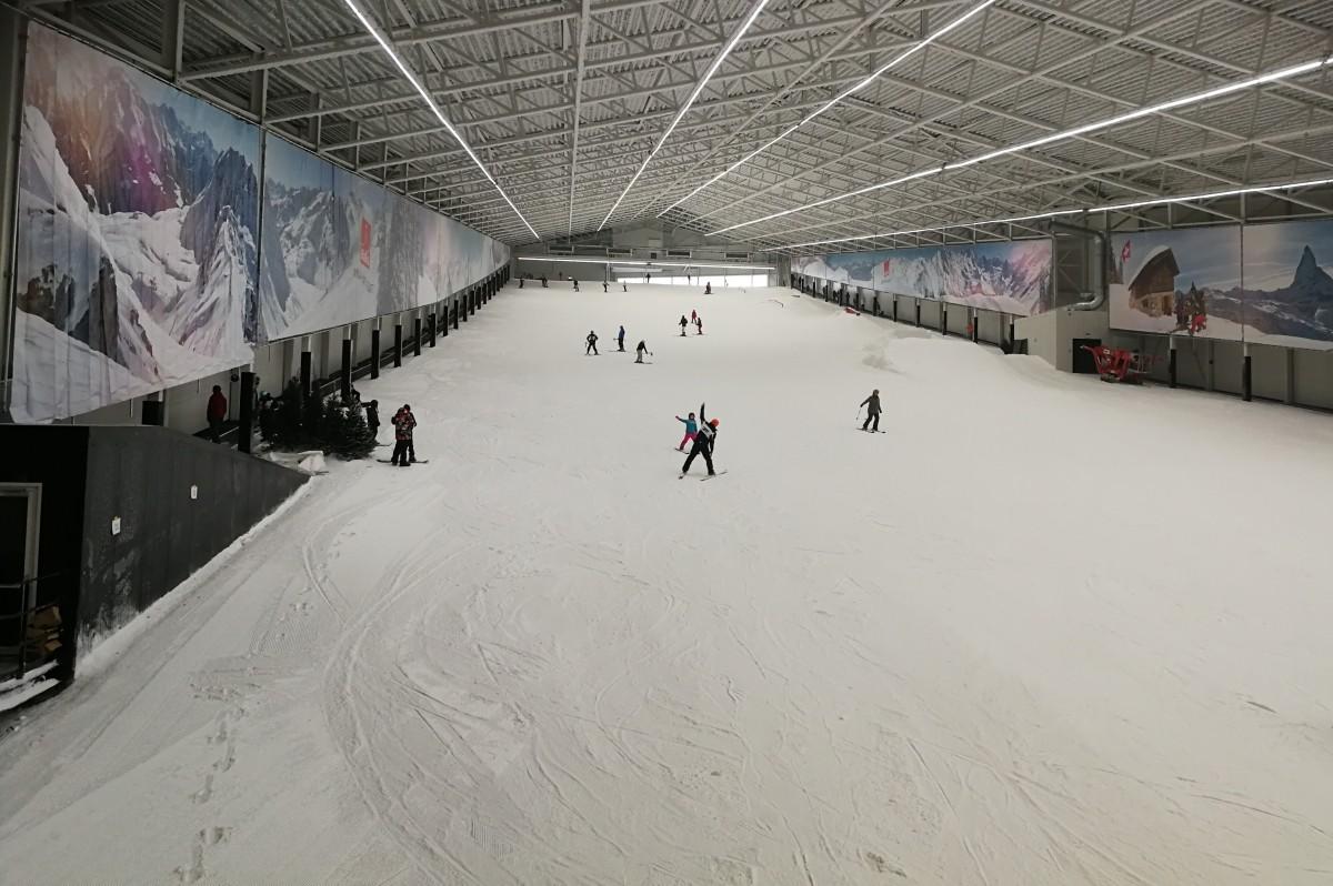 Bijna skivakantie - we gingen oefenen in Aspen ski!