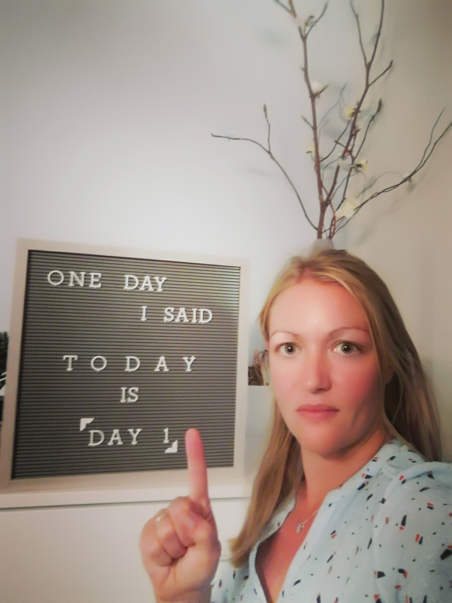 Starting up-date: One day is vandaag